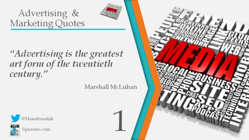 Advertising and Marketing Quotes