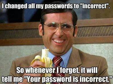 A good way to remember your password