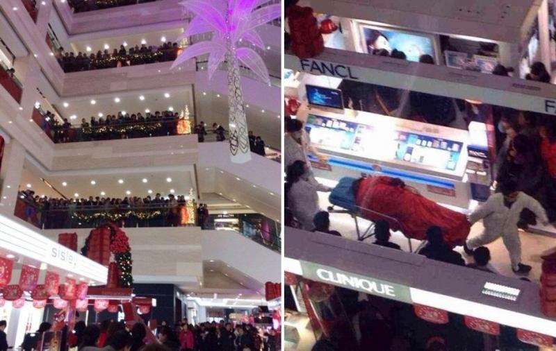 In #China Man Commits Suicide in Mall After Girlfriend Refuses to Stop Shopping