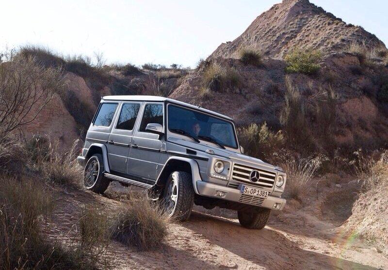 Mercedes-Benz G-Class - front shot