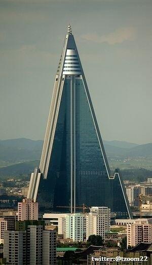 فندق Ryugyong في كوريا الشمالية..!
