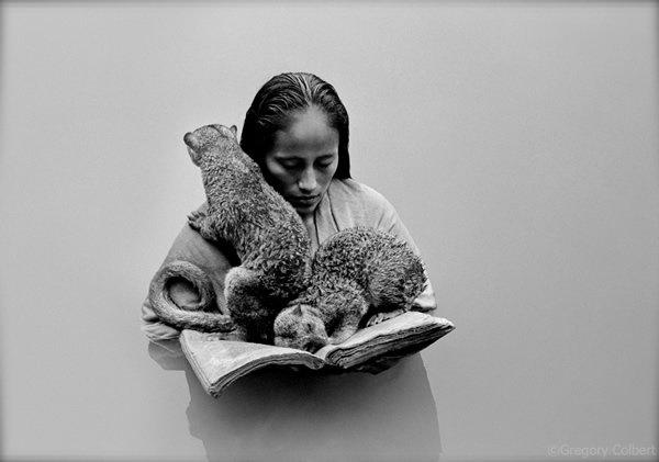 مصور يدمج صور بشر مع حيوانات تحت عنوان -Coming Together Like One - صورة ١٨