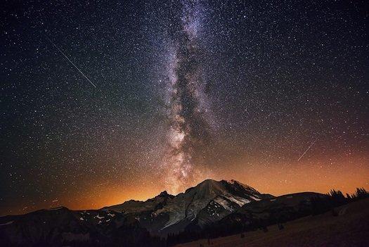 Milky Way Eruption with a Nikon D800 camera