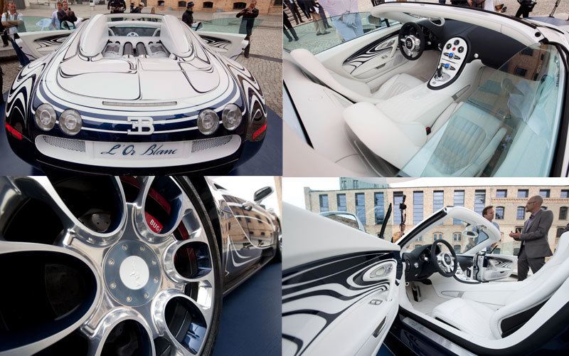 custom-made #Bugatti L'Or Blanc – the world's most expensive car - 4