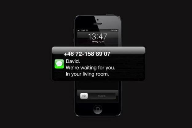 Most creative marketing campaigns 2013: Horror Film Festival Text Stalks Patrons For Their RSVPs