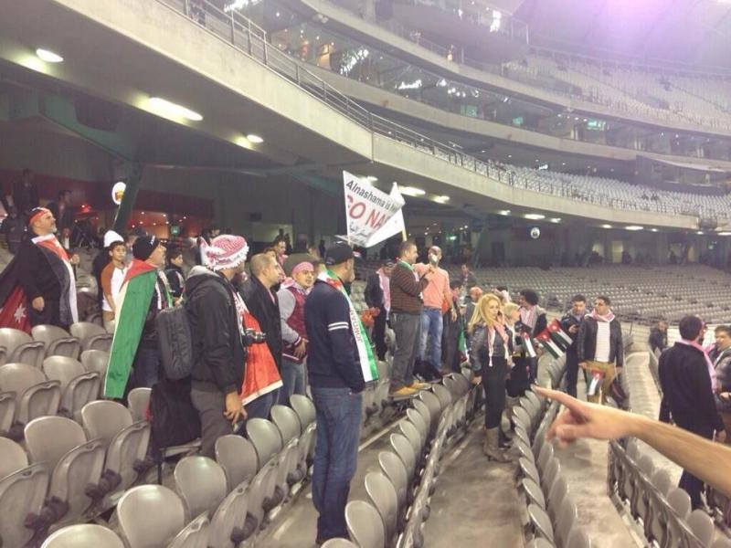 #TFsport صور ماقبل مباراة النشامى مع استراليا 3