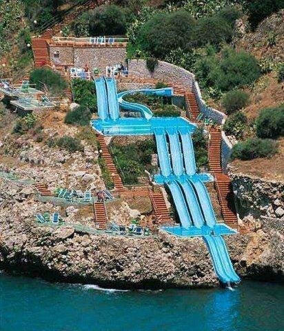 Coolest water slide ever