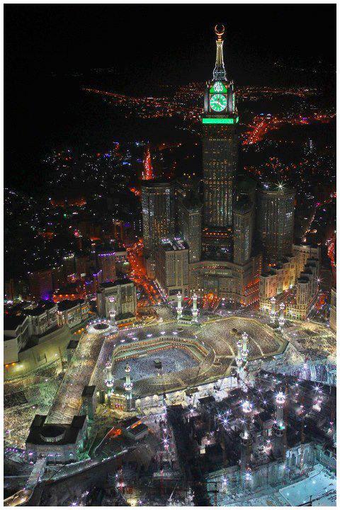 صورة رائعة للحرم المكي #مكة