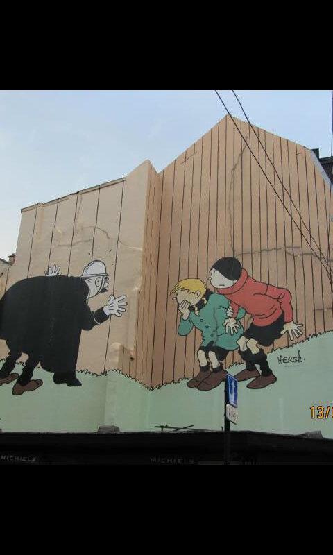 فن الرسم على الجدران في #إسبانيا - صورة 1