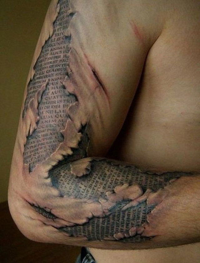 Most Creative and Crazy #Tattoos - 48