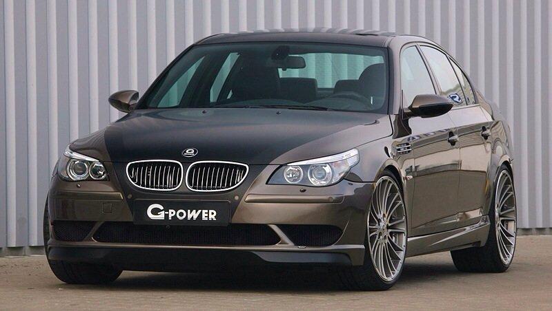 BMW M5 G-Power Hurricane RS - front shot