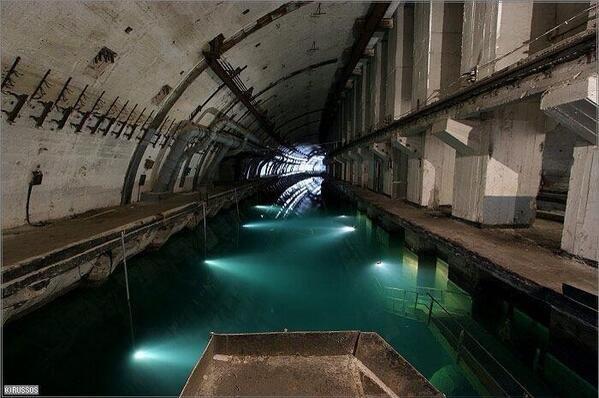 Soviet Submarine Base