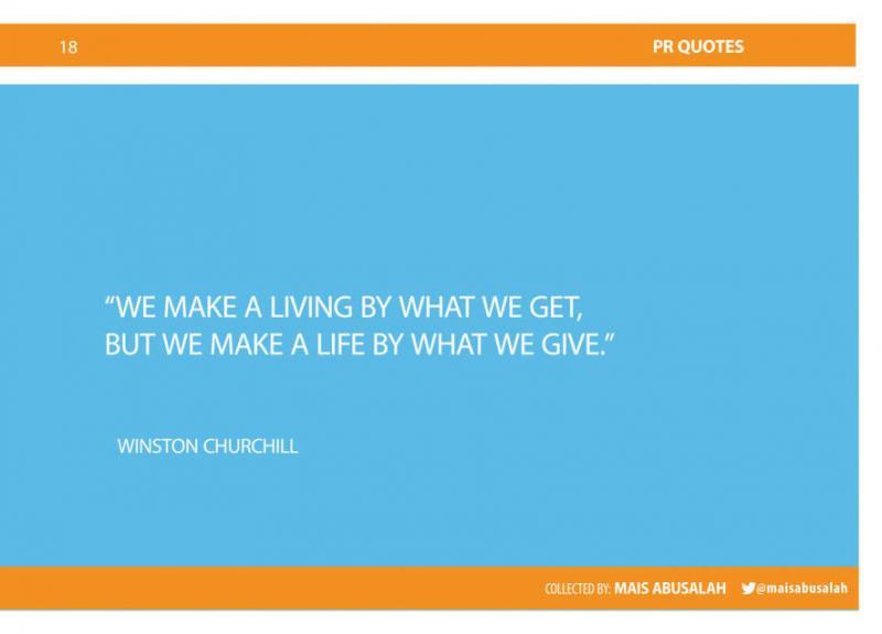 Inspiring PR & Communications Quotes 11