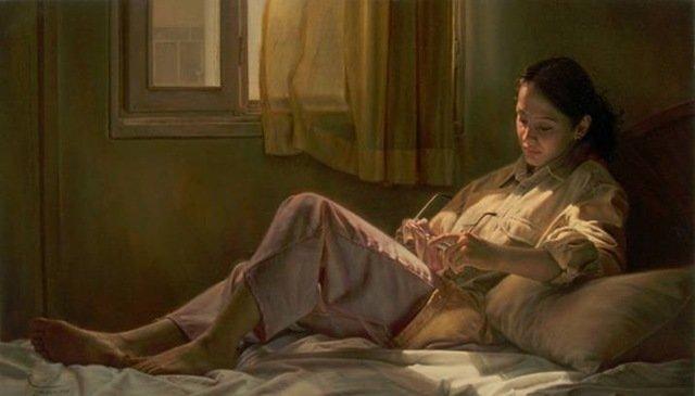 Iranian painter iman maleki #Reality_Painter - 14