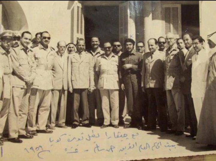 تشي جيفارا في غزة 1959