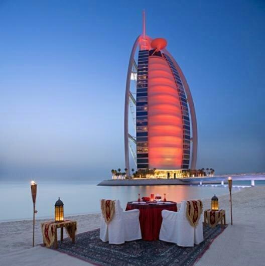 دبي #برج_العرب جميرا.