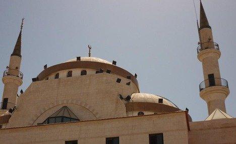 المسجد الكبير في #مادبا #الأردن
