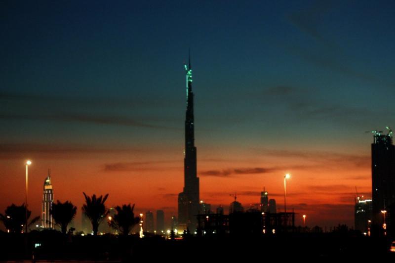 #دبي ليلا و #برج_خليفة