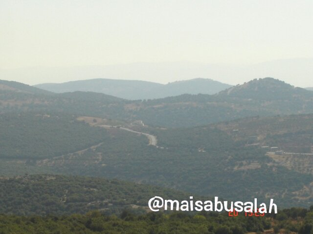 جبال #عجلون #الأردن - الطبيعة الخلابة