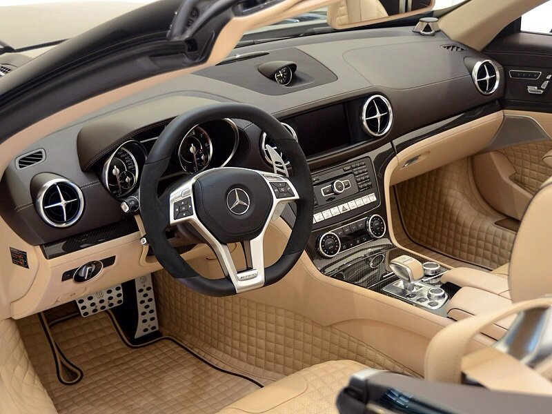 Mercedes-Benz Brabus 800 roadster - interior shot