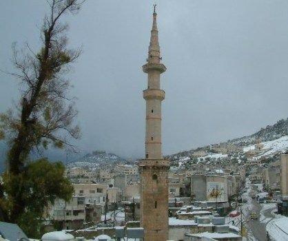 #عجلون #الأردن في الشتاء