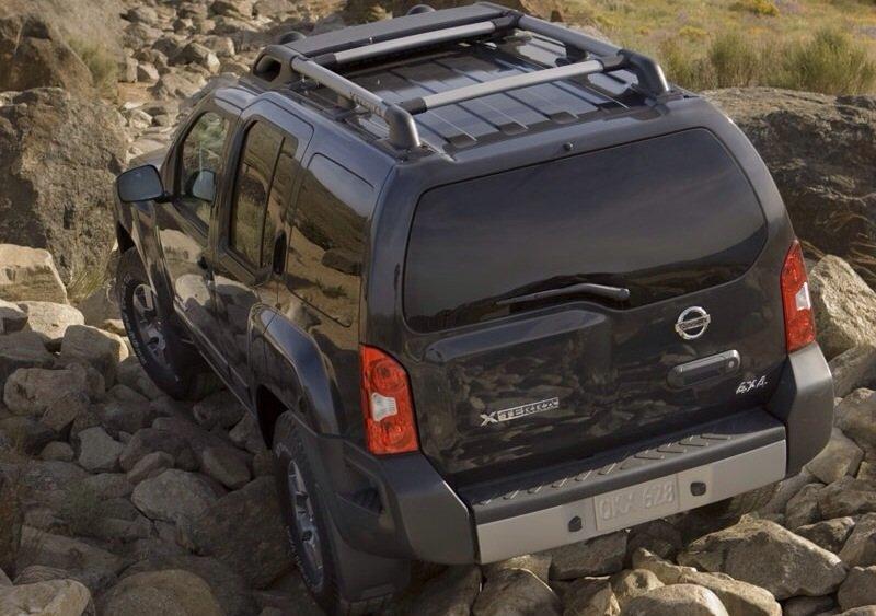 Nissan Xterra - rear shot