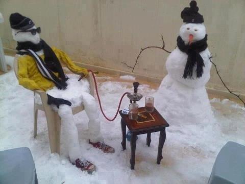 مجلس رجال الثلج في #الأردن #نهفات