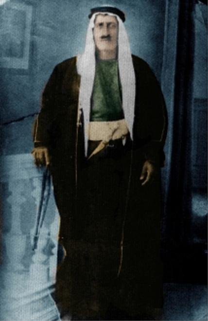المرحوم سليم العكروش من رجالات #الفحيص #الأردن الذين لم يسمحو للتركمان بسلب اراضي الفحيص والحمر #تاريخ