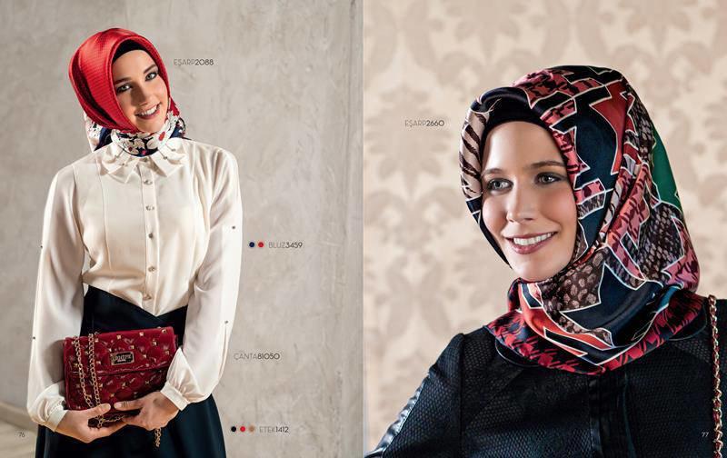 ملابس #محجبات #حجاب : موديلات #فساتين طويلة روعة #بنات - صورة 3