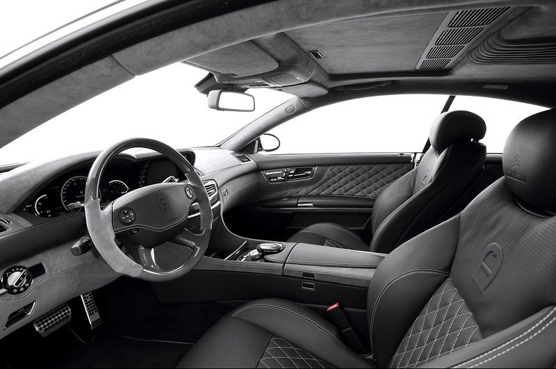 Mercedes-Benz Carlsson Aigner CK65 Eau Rouge Dark Edition - interior shot