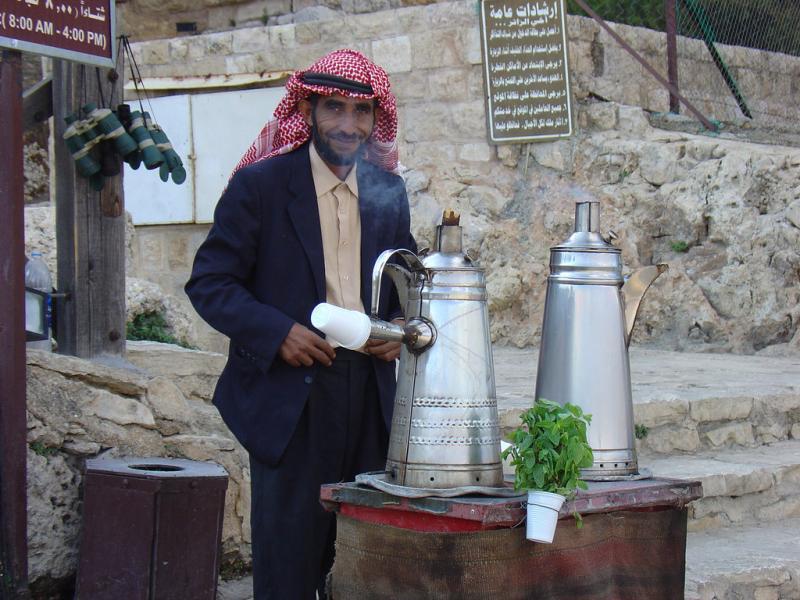 من الوجوه المألوفة قرب قلعة #عجلون #الأردن