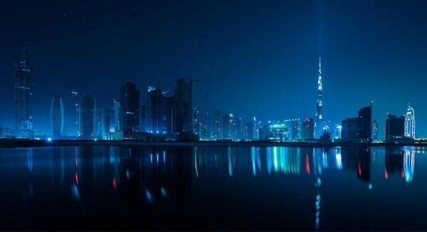 #Dubai at Night