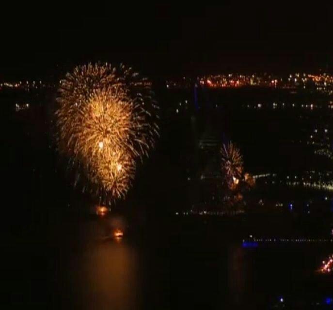 Dubai new year fireworks