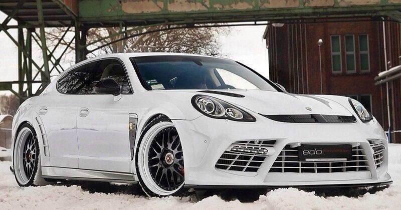 Porsche Panamera Turbo Edo Competition Mody Dick - front shot