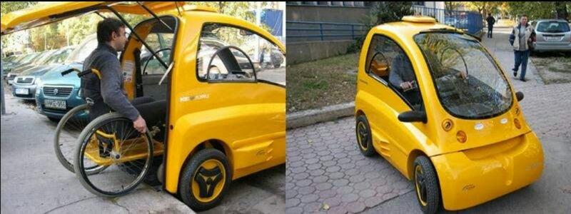 The kenguru electric car