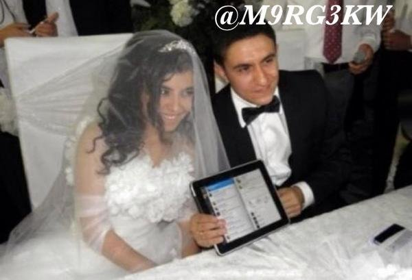 first marriage over twitter
