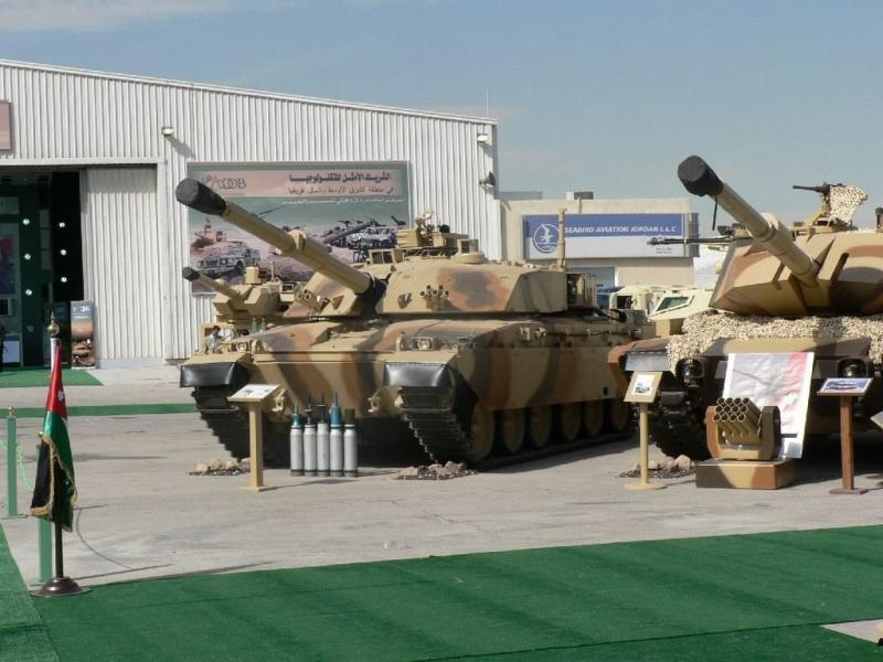 أسلحة أردنية
