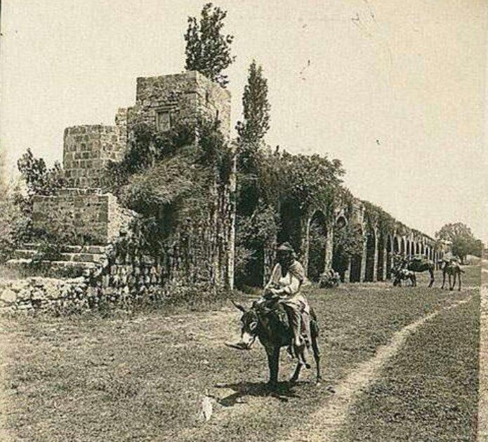 صورة نادرة ل #فلسطين عام 1918 #تاريخ