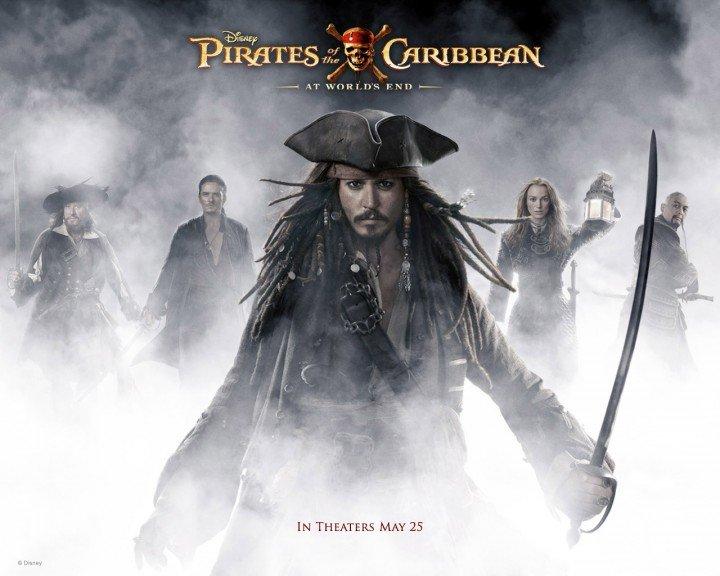 أغلى 10 أفلام في التاريخ : المركز الأول : Pirates of the Caribbean: At World's End 300 مليون دولار – 2007