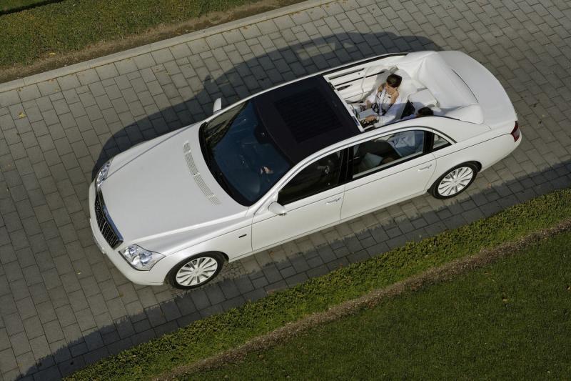 Maybach Landaulet Most Expensive Super Cars