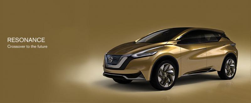 Nissan resonance concept car