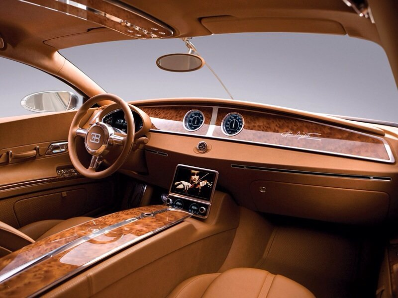 Bugatti 16C Galibier Concept - interior shot