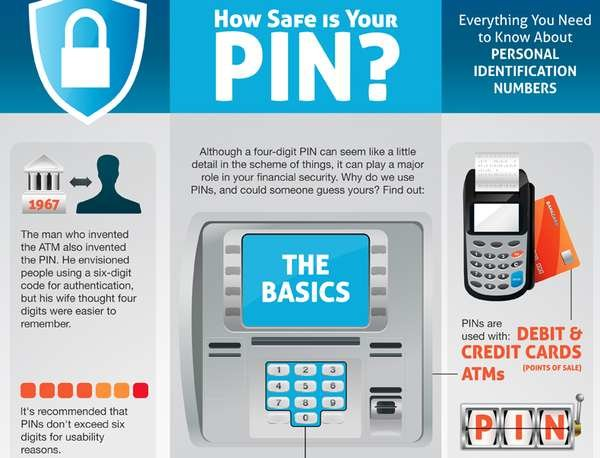How safe is your pin ? #infographic