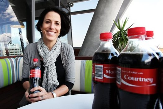 Most creative marketing campaigns 2013: 'Share A Coke' Campaign With Personal Names On Bottles & Ca