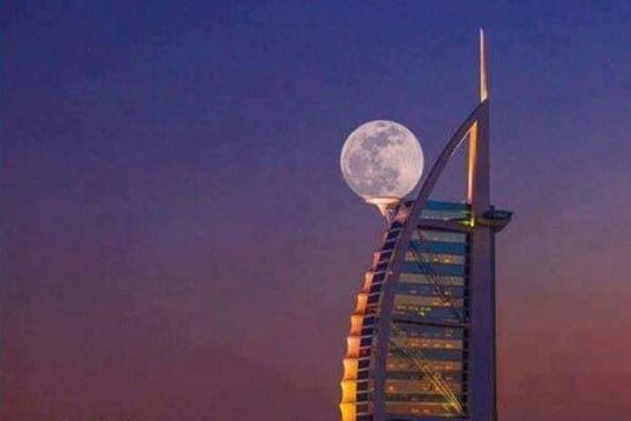 Right time shot for burj alarab In #Dubai