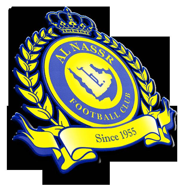خلفية ثلاثية الأبعاد لشعار نادي النصر