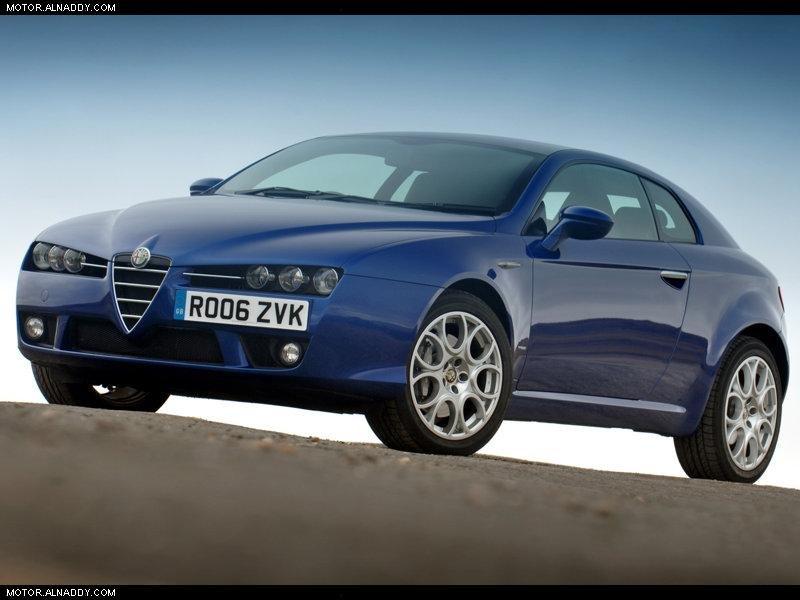 2005 Alfa Romeo Brera UK Version
