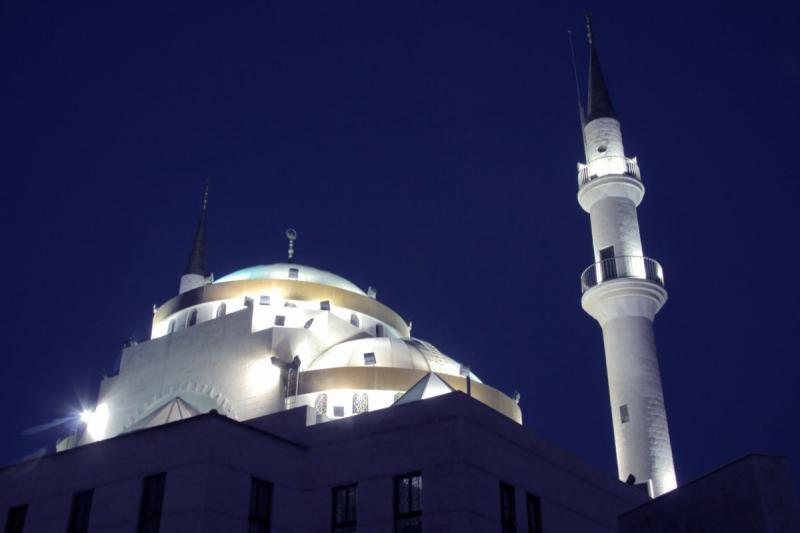 مسجد #مادبا #الأردن الكبير ليلا