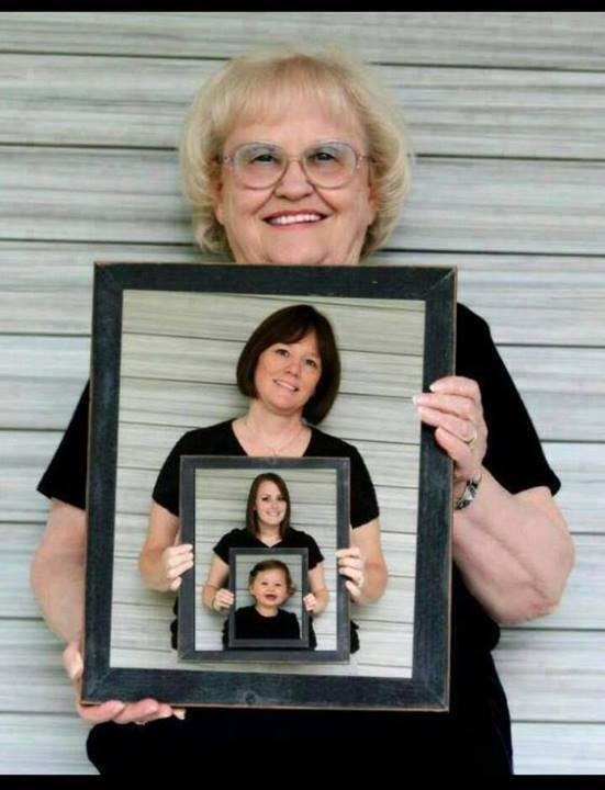 4 generations. amazing pic