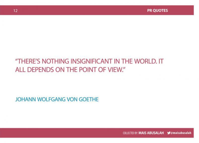 Inspiring PR & Communications Quotes 6
